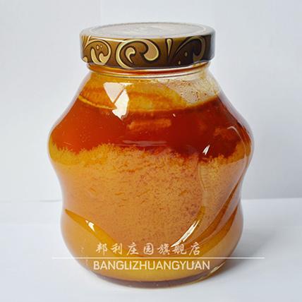 秦岭深山土蜂蜜 结晶生态蜜 纯天然野生650g