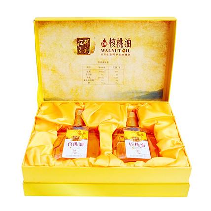 秦岭深山原生态核桃油2瓶礼盒装318元